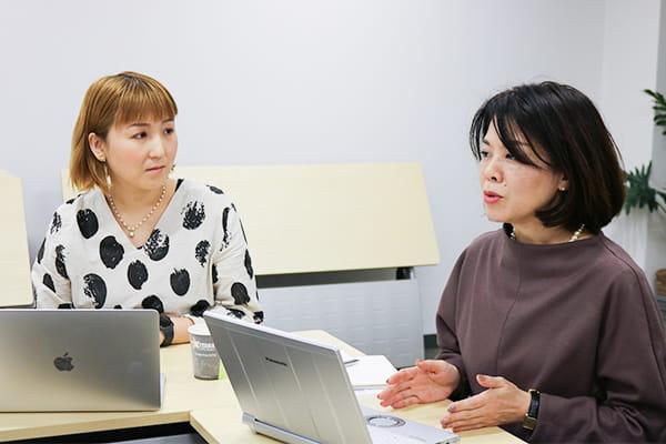 左:谷口 ちささん 右:北川 佳寿美さん